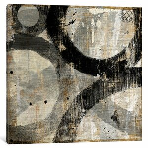 Industrial II Painting Print on Wrapped Canvas by East Urban Home