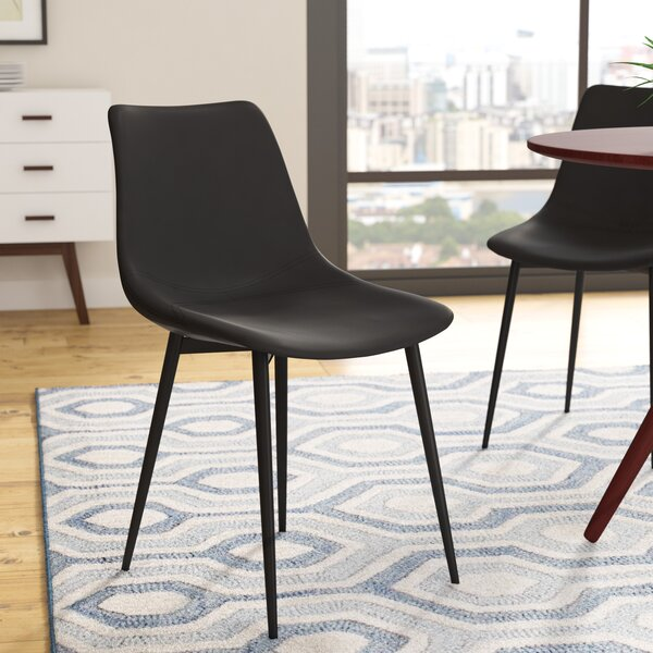 Wantage Contemporary Side Chair by Wrought Studio