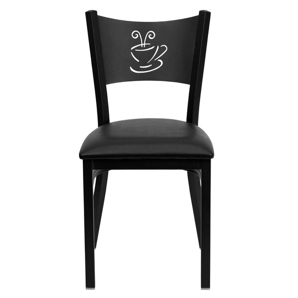 #1 Chafin Solid Back Side Chair By Winston Porter Read Reviews