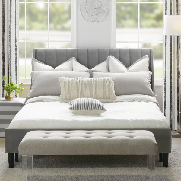 Woodvale Upholstered Platform Bed by Brayden Studio