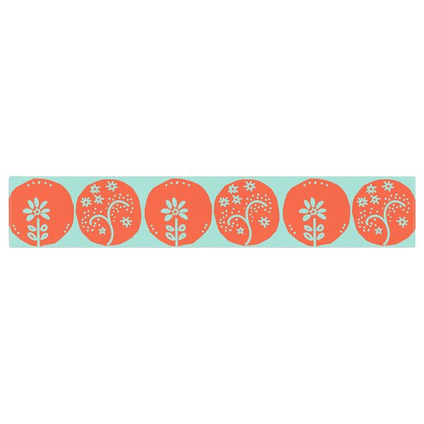 Anneline Sophia Dotty Papercut Table Runner by East Urban Home