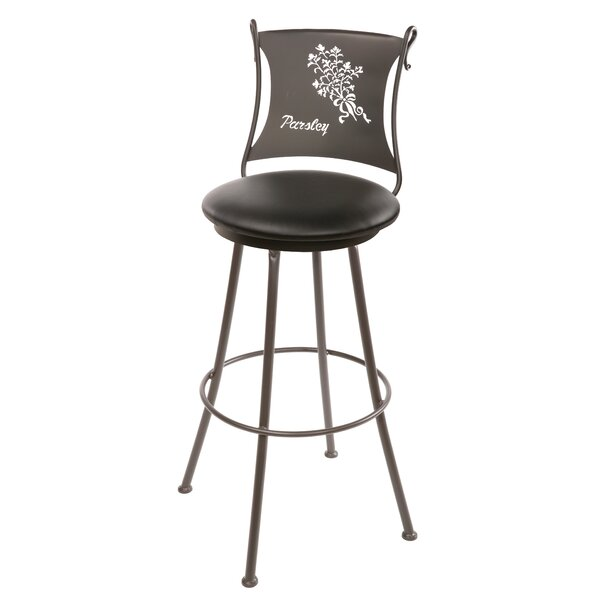 Ching 30 Swivel Bar Stool by Fleur De Lis Living