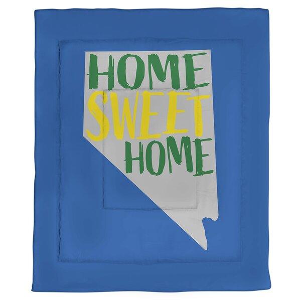 Nevada Home Sweet Single Reversible Comforter
