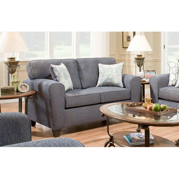 Bourbonnais Loveseat by Alcott Hill