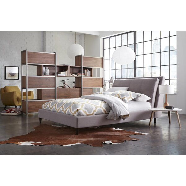 Rodger Upholstered Panel Bed by Corrigan Studio