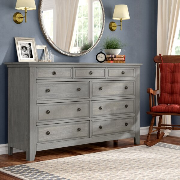 Woodside 9 Drawer Dresser by Three Posts