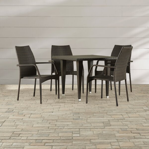 Sibylla 5 Piece Dining Set by Ivy Bronx