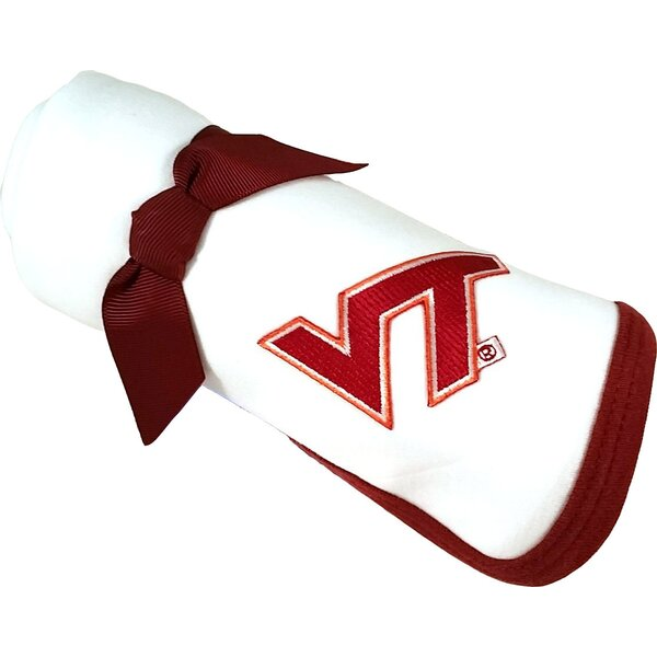 Virginia Tech Hokies Baby Receiving Blanket by Future Tailgater