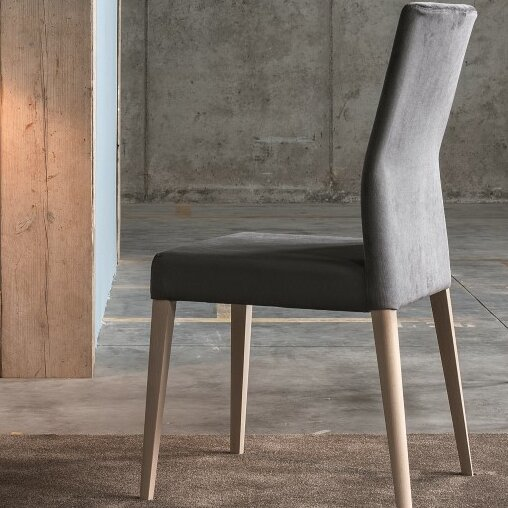 Soho Genuine Leather Upholstered Dining Chair by YumanMod