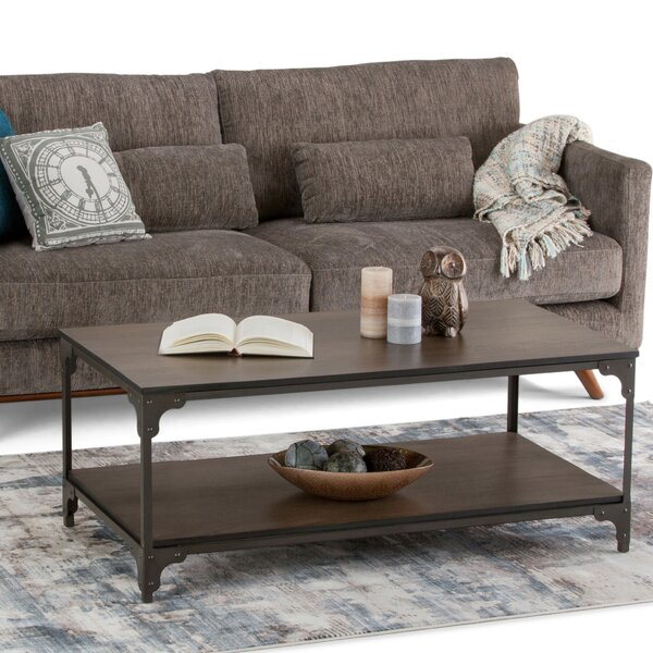 Summerdale Rectangle Coffee Table by Williston Forge