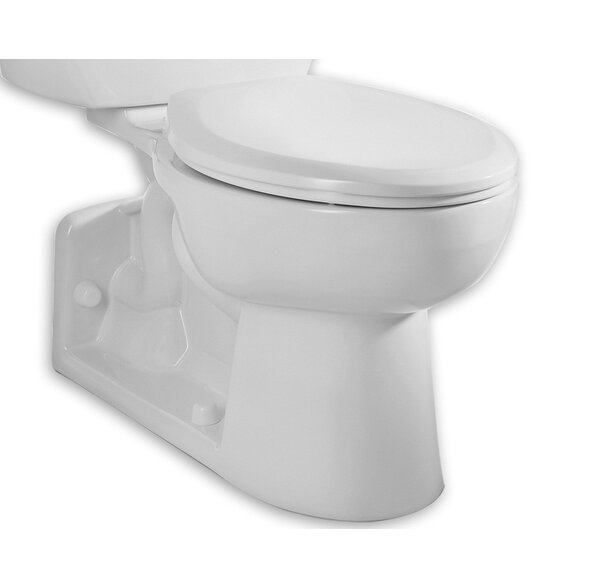 Yorkville Dual Flush Elongated Toilet Bowl by American Standard