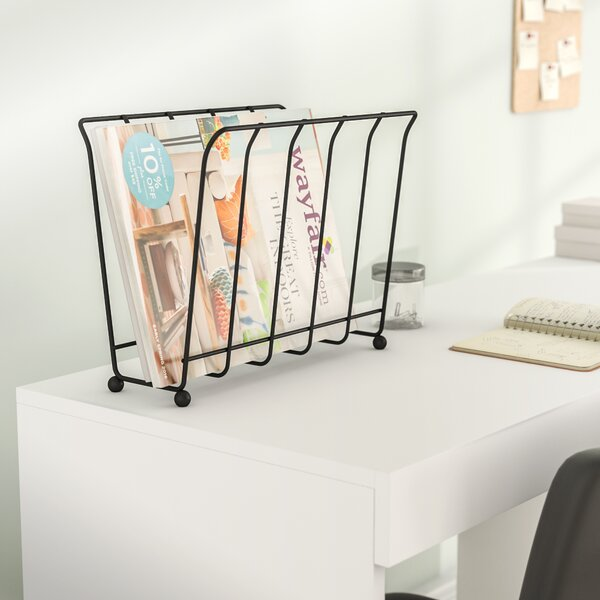Medina Wire Magazine / Newspaper Caddy by Rebrilliant