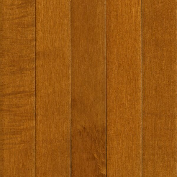 Prime Harvest 5 Solid Maple Hardwood Flooring in Candied Yam by Armstrong Flooring