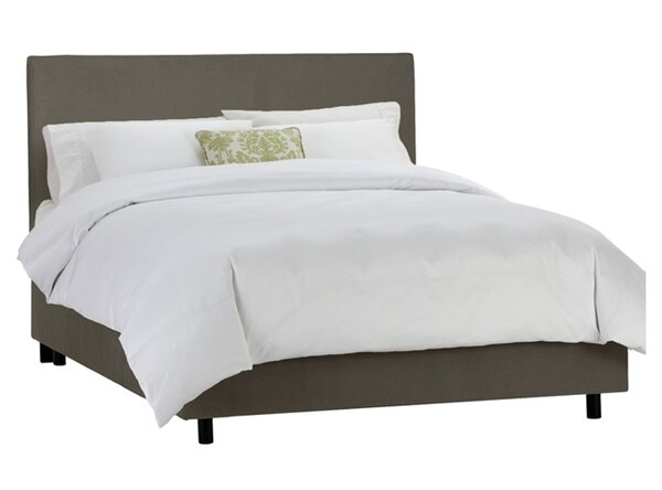Clarita Upholstered Standard Bed by Skyline Furniture