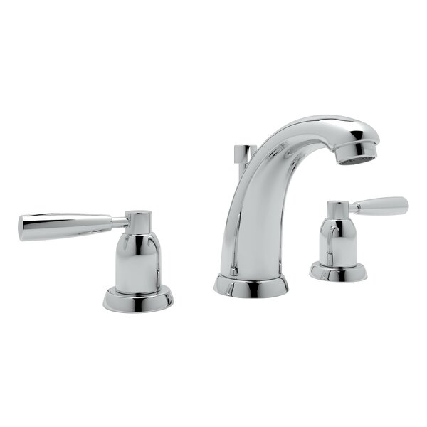 Holborn High Neck Widespread Bathroom Faucet By Perrin & Rowe