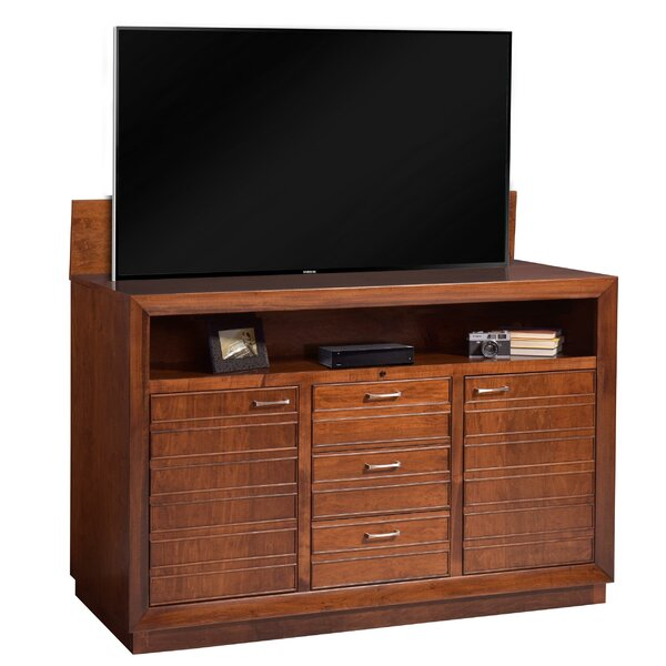Burslem Solid Wood TV Stand By Foundry Select
