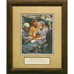 I Will Instruct You by Nathan Greene Framed Painting Print by Carpentree