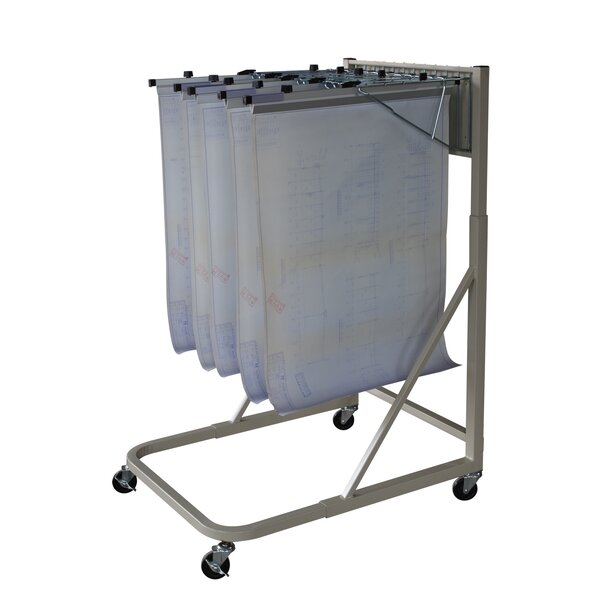 Pivot Mobile Hanging File Cart by Buddy Products