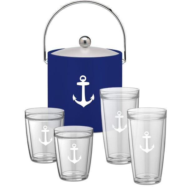 Fidler Special 5 Piece Beverage Serving Set by Breakwater Bay