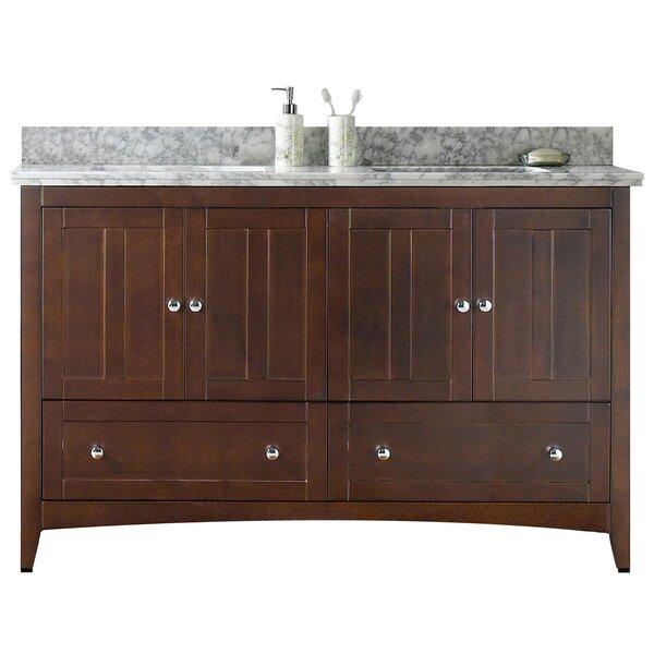 Nixon Floor Mount 59 Double Bathroom Vanity Set by Royal Purple Bath Kitchen