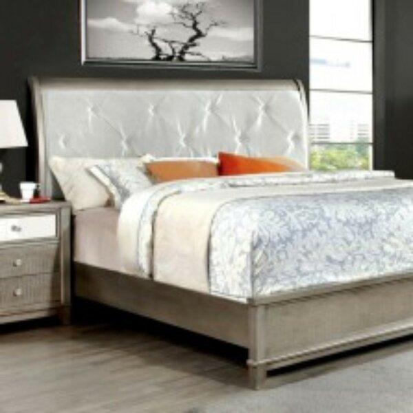 Barela Modern Upholstered Platform Bed by Canora Grey