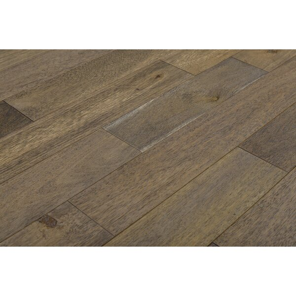 Norwood 4-3/4 Solid Acacia Hardwood Flooring in UV Cured Natural Oil by Albero Valley