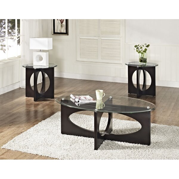 Reviews Dania 3 Piece Coffee Table Set by Standard Furniture