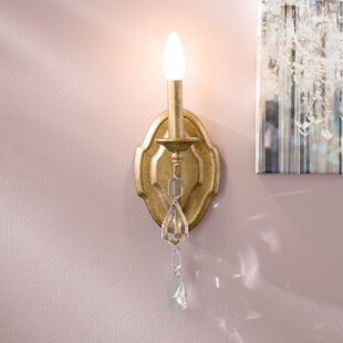 Destrey 1-Light Candle Wall Light By Willa Arlo Interiors Wall Lights