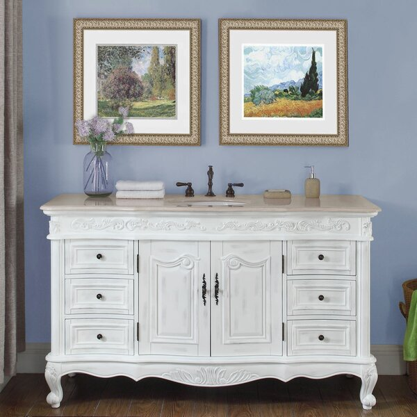 Haslett 60 Single Bathroom Vanity Set by Astoria Grand