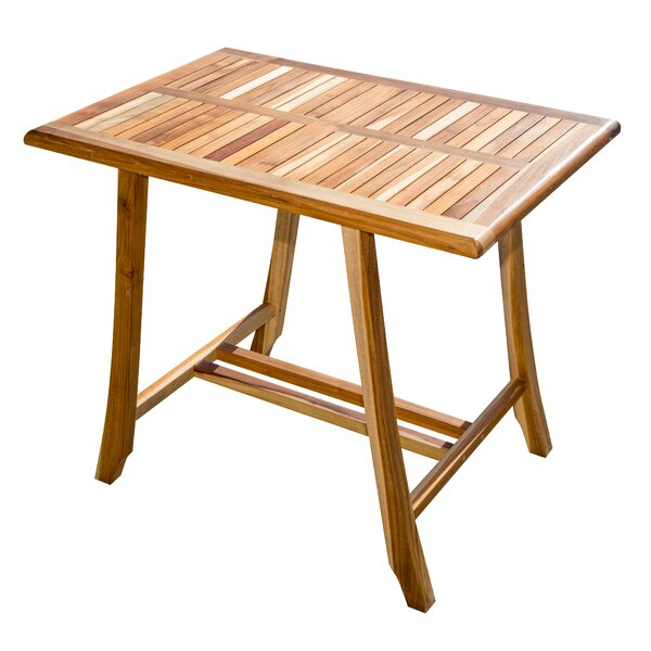Satori Bistro Teak Dining Table by EcoDecors