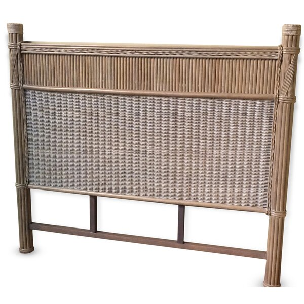 Bedelia Rattan Panel Headboard by Bay Isle Home