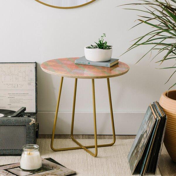 Iveta Abolina Aida End Table by East Urban Home