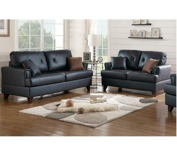 Wesly 2 Piece Living Room Set by A&J Homes Studio