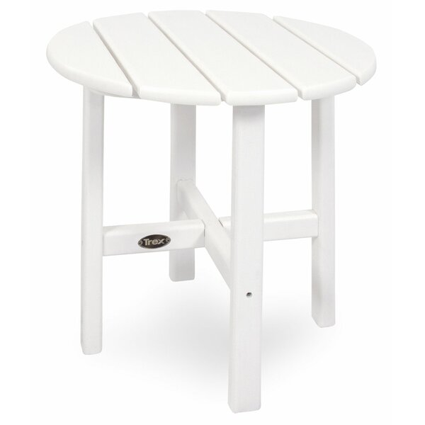 Cape Cod Plastic/Resin Side Table by Trex Outdoor