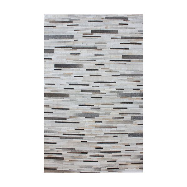 Derrick Hand Woven Pearl/Gray Area Rug by Trent Austin Design