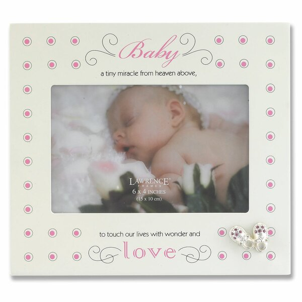 Nursery Baby Shoes Picture Frame by Lawrence Frames