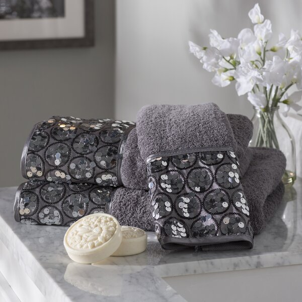 Rivet 3 Piece Towel Set by Willa Arlo Interiors