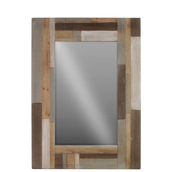 Wood Accent Mirror by Urban Trends