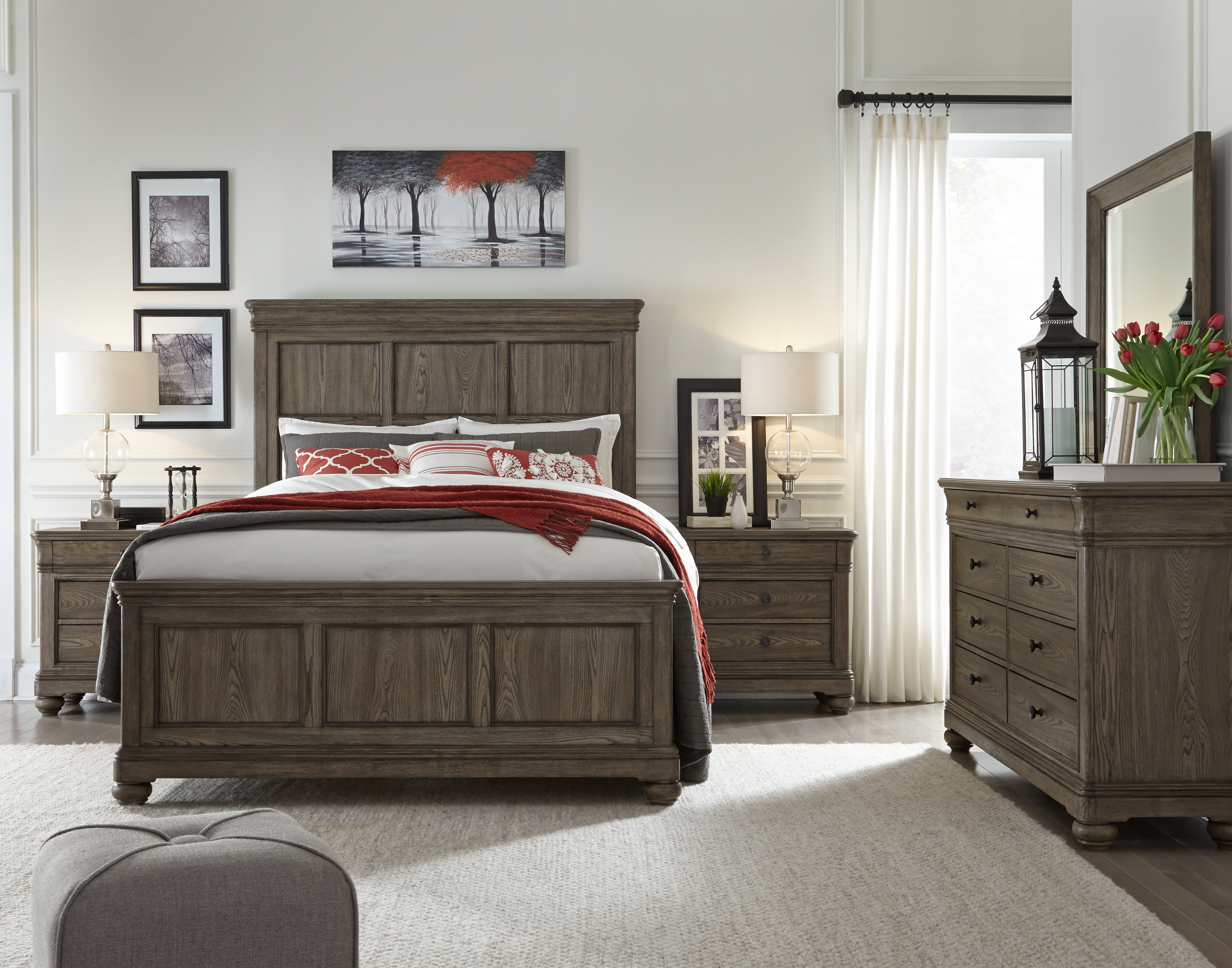 Longshore Tides Serenity Panel Configurable Bedroom Set & Reviews -