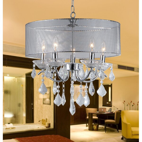 Karole 5-Light Chandelier by House of Hampton