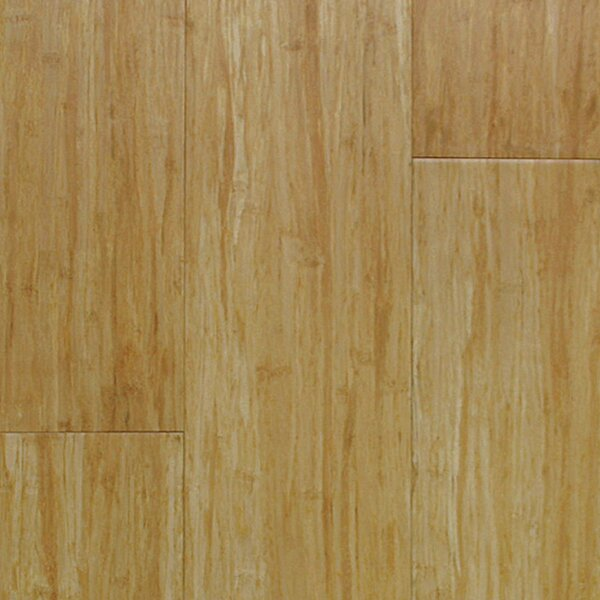 3-3/4 Solid Bamboo Flooring in Matte Glossy Natural by Islander Flooring
