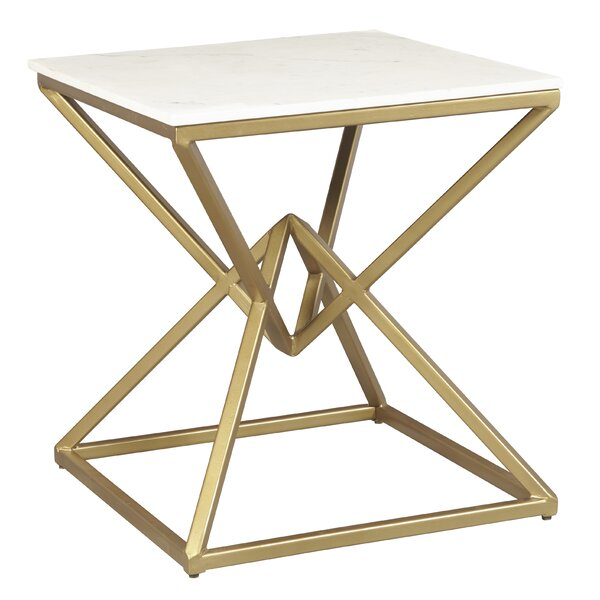 Hyacinthe End Table By One Allium Way