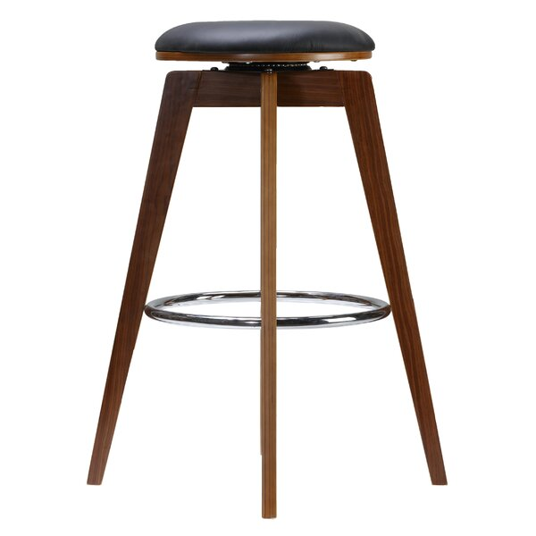 Dorota 30 Swivel Bar Stool (Set of 2) by Wrought Studio