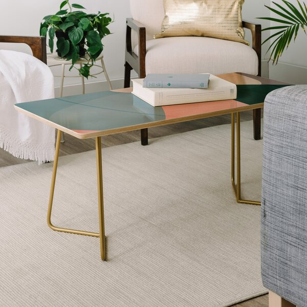 Mareike Boehmer Graphic Coffee Table By East Urban Home