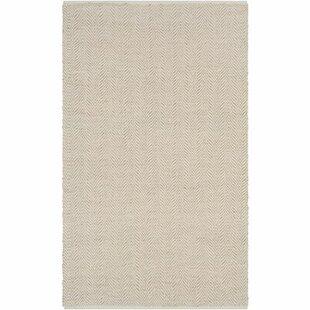 Read Reviews Kewanee Hand-Woven Khaki/Wheat Area Rug By Trent Austin Design