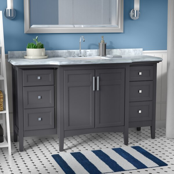 Lebanon 60 Single Bathroom Vanity Set by Zipcode D