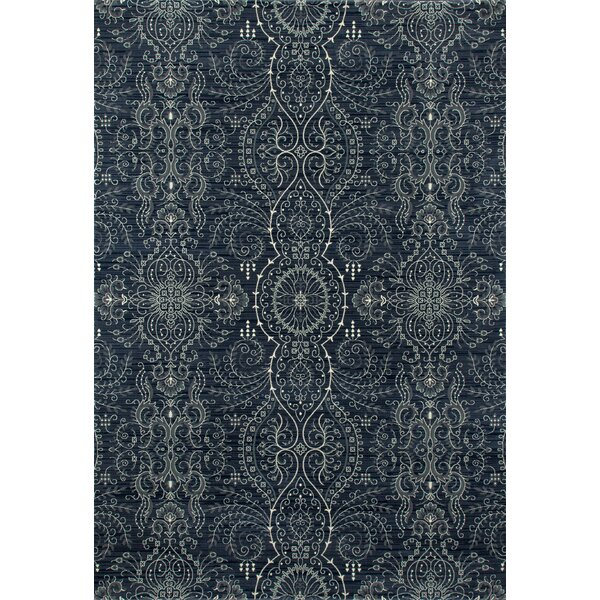 Castellano Blue Area Rug by Charlton Home