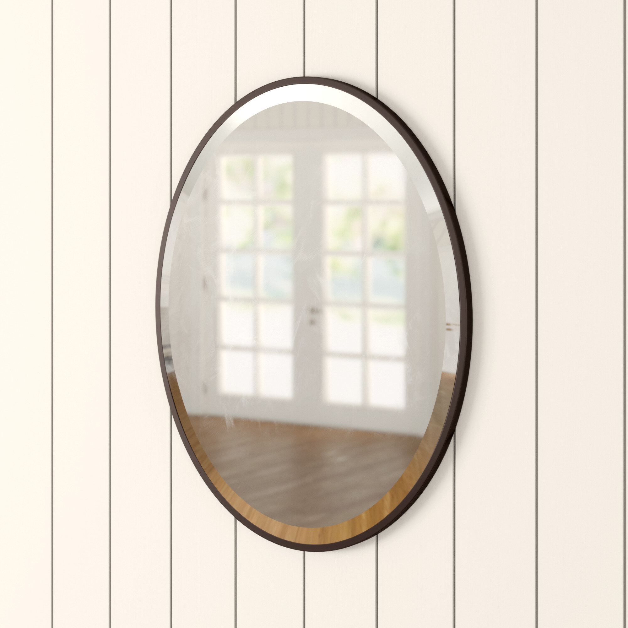 Birch Lane Heritage Lincolnwood Glam Beveled Bathroom Vanity Mirror Reviews Wayfair