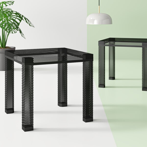 Drakeford Metal End Table By Hashtag Home