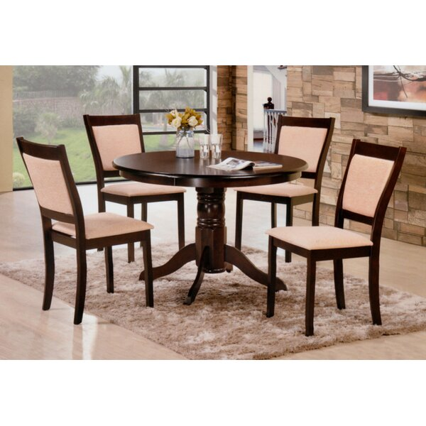 Marinescu 5 Piece Dining Set by Charlton Home Charlton Home